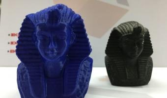3d scanned and printed toutanhamon