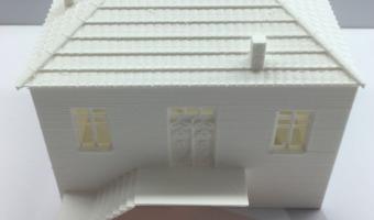 3d printed σπίτι μινιατούρα