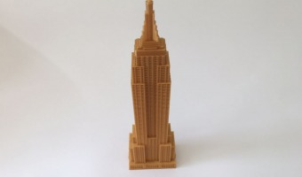 3d printed Empire State Building 30cm!