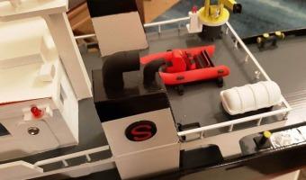 3D printed ship