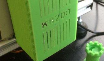 3d εκτυπωμένη θήκη για velleman k8200