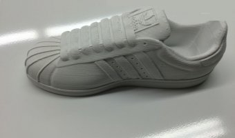 3d printed adidas superstar