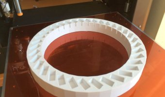 3d εκτυπωμένο εξάρτημα για μαγνήτες