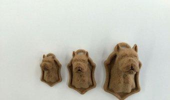 3d printed μπρελοκ σκύλος απο ξύλο!