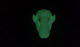 3d printed glow in the dark