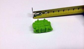 3d εκτυπωμένο όχημα επιτραπέζιου