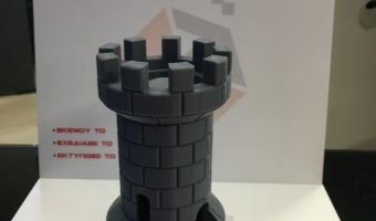 3d printed πύργος