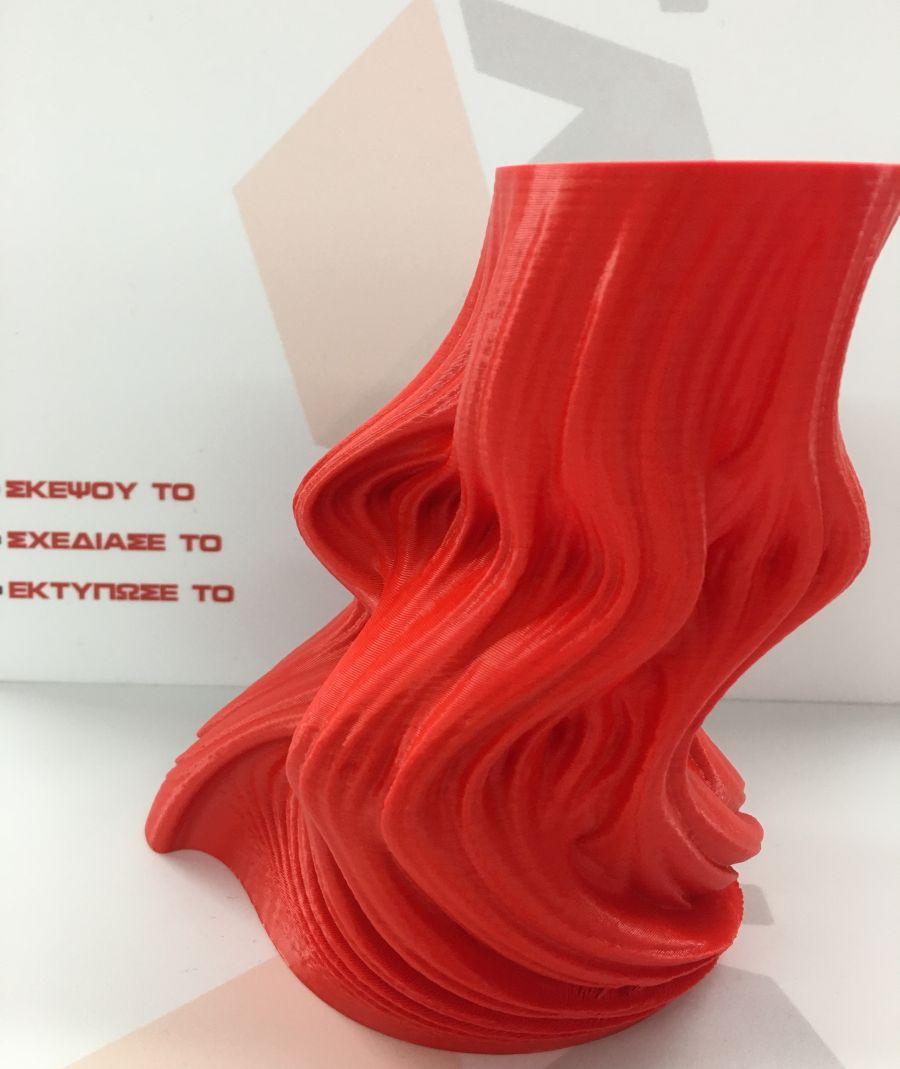 3d printed flame vase