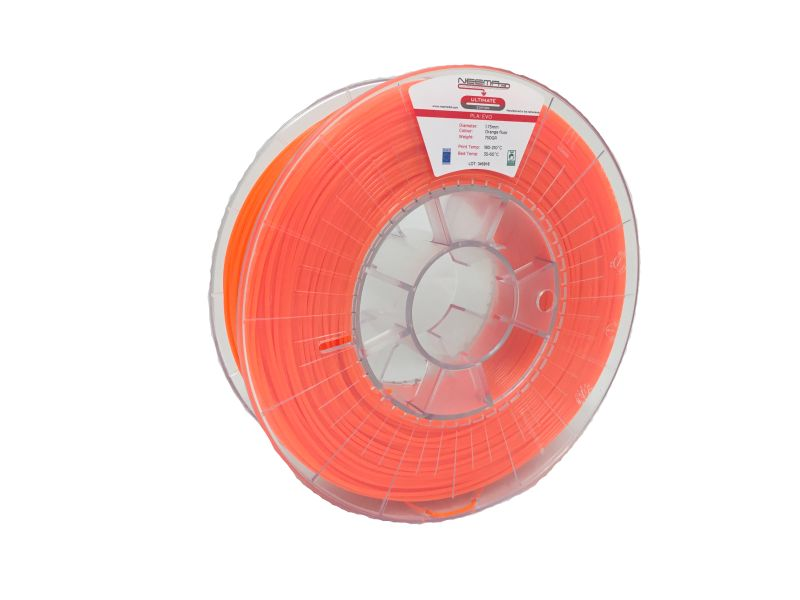 NEEMA3D™ PLA: EVO ORANGE FLUOR