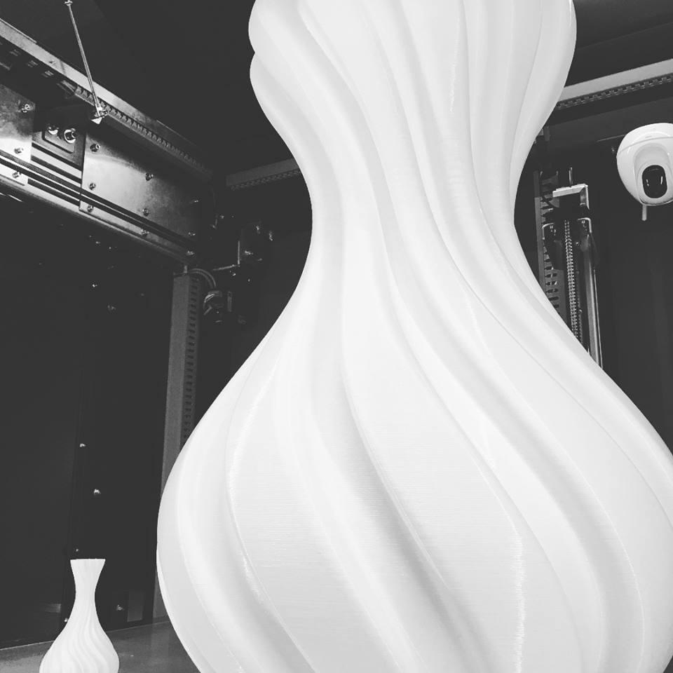 3d printed vase large scale 70cm