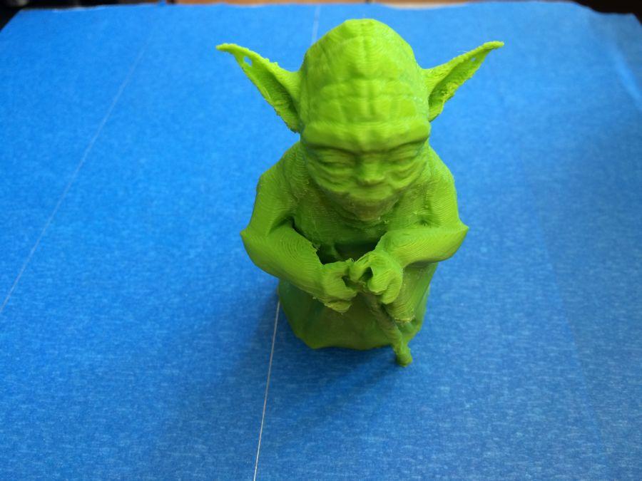 3d printed master yoda