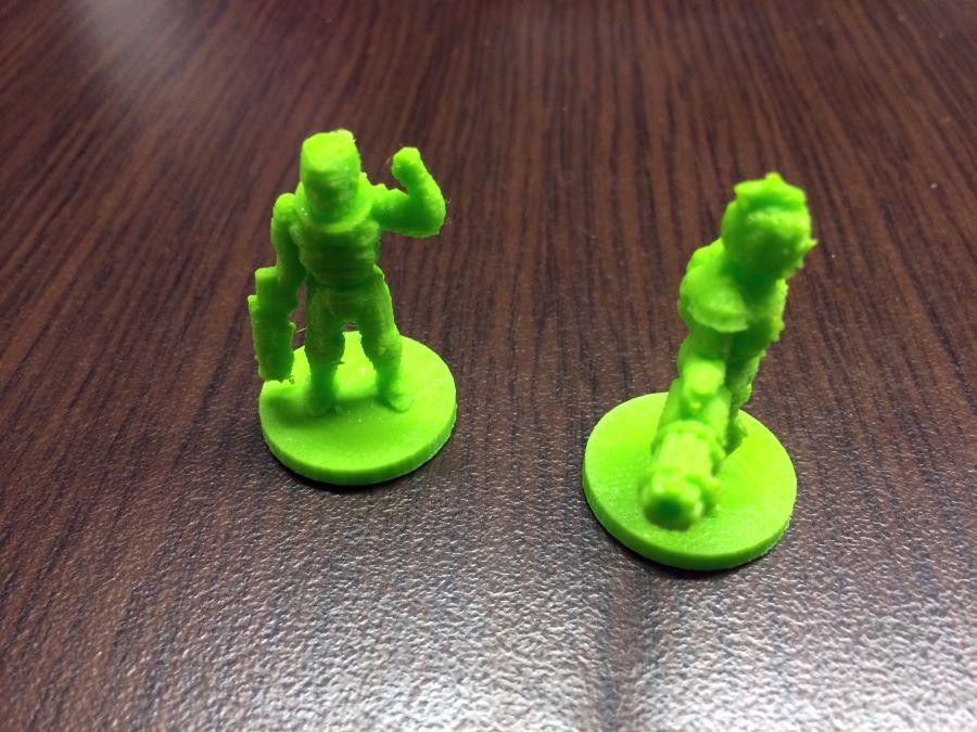 3d printed φιγούρες