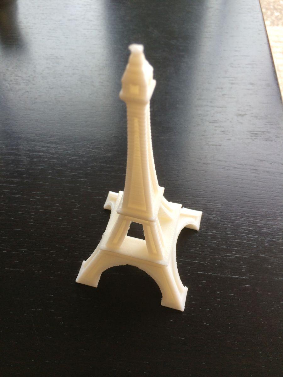 3d eifel tower