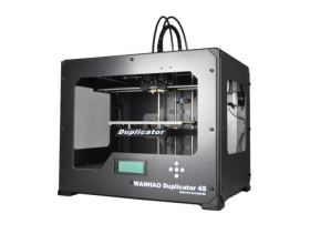 3D Printer Wanhao Duplicator 4S Dual extruder official Greek reseller