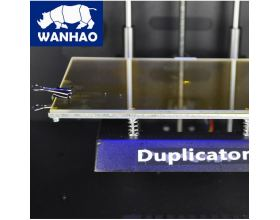 3d printer wanhao duplicator 4s glass heated bed