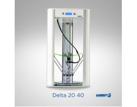 3D printer DeltaWASP 20 40 turbo demo