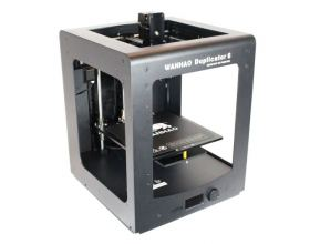 3D printer Wanhao Duplicator 6 with side and top covers demo