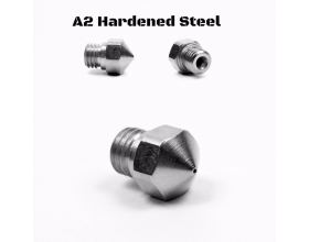 Micro Swiss 0.5 mm Nozzle for MK10 Allmetal Hotend Hardened steel