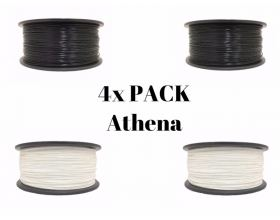 4x PACK PLA ATHENA 1.75mm