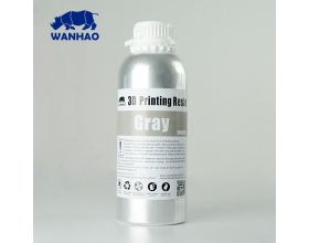 Wanhao UV Resin Water Washable 1000 ml Grey