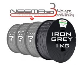NEEMA3D™ PLA ATHENA SURPRISE PACK - IRON GREY