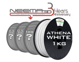 NEEMA3D™ PLA ATHENA SURPRISE PACK - WHITE
