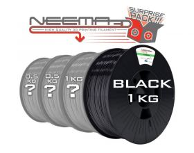 NEEMA3D™ PLA ATHENA SURPRISE PACK - BLACK