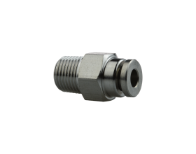 STAINLESS STEEL BOWDEN TUBE PUSH FITTING PC4-01