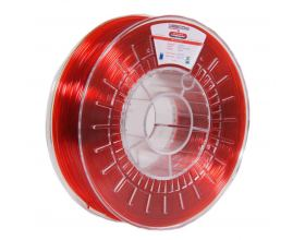 Νήμα PETG: EVO NEEMA3D™ RED TRANSPARENT 0.75KG 1.75mm