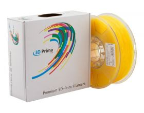 Νήμα TRANSPARENT PLA 3DPRIMA 1.75mm filament YELLOW