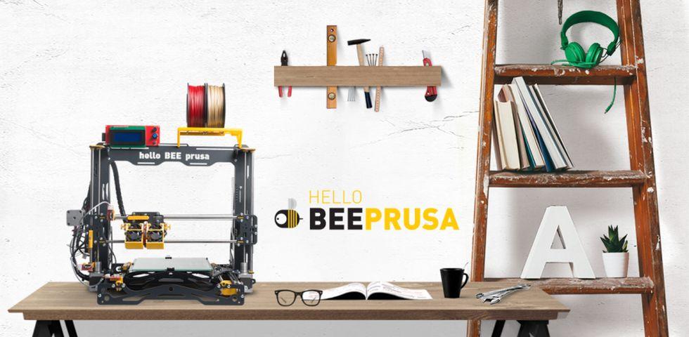 Ο επώνυμος Prusa 3d printer με Dual Extruder και Heated Bed!