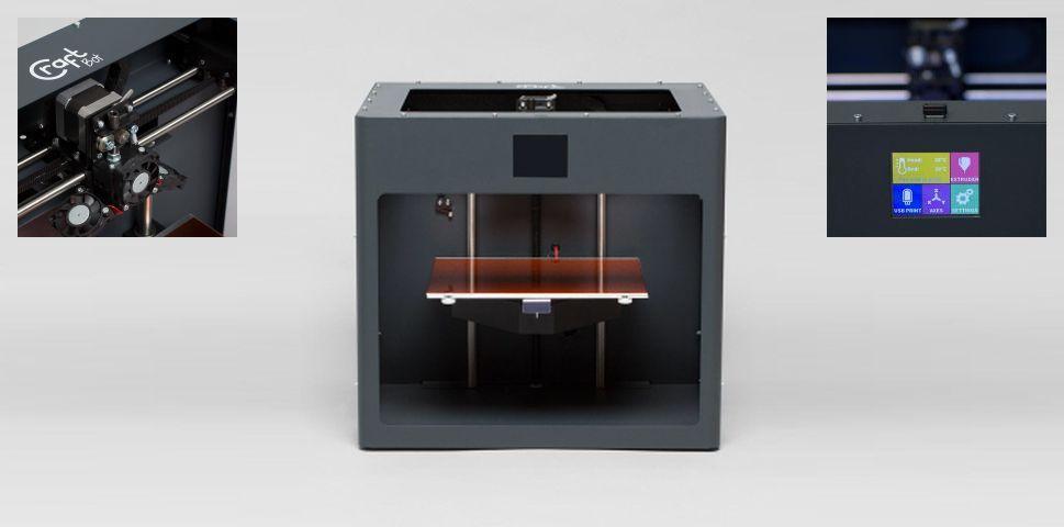 Νέος 3d εκτυπωτής Craftbot 2 με 25x20cm heated bed!